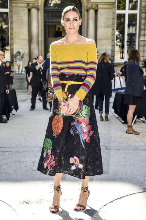 Gaya Selebriti di Paris Fashion Week SS17