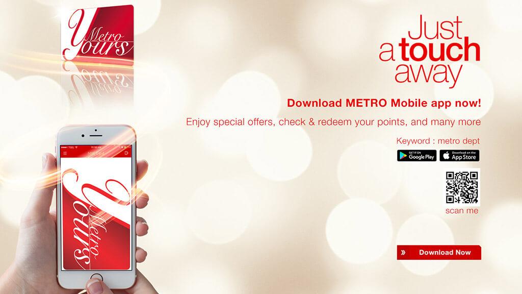 METRO Mobile App | METRO Dept  Store Indonesia