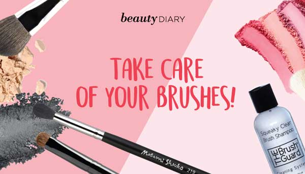 Tips Merawat Kuas Makeup Agar Tahan Lama