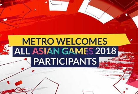 METRO Welcome All Asian Games 2018