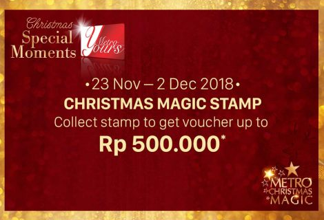 Christmas Magic Stamp