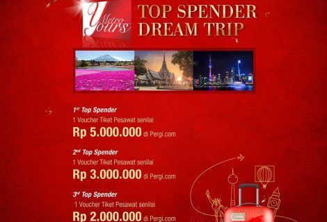Top Spender Dream Trip
