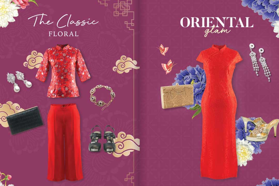 The Classic Floral & Oriental Glam
