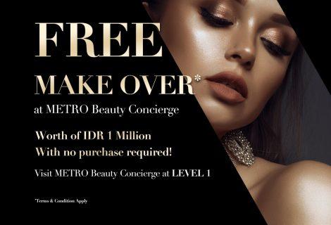 Beauty Concierge at METRO Plaza Senayan