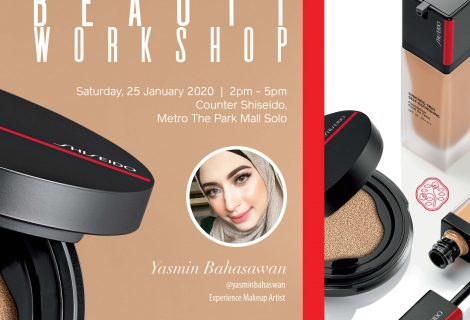 Beauty Workshop – The Park Solo – Yasmin Bahasawan
