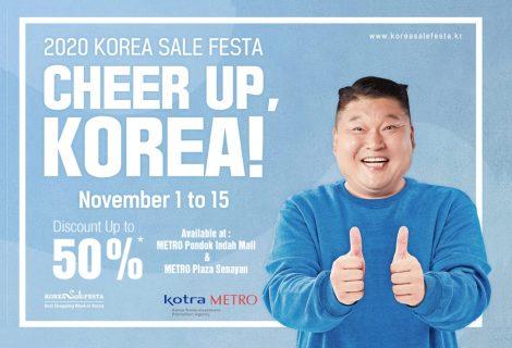 METRO x KOTRA Celebrating 2020 KOREA SALE FESTA