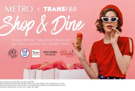 SHOP & DINE METRO x TFB