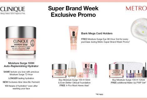 METRO SUPER BRAND WEEK – CLINIQUE