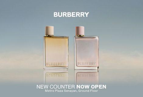 Burberry Fragrances NEW counter at Metro Plaza Senayan