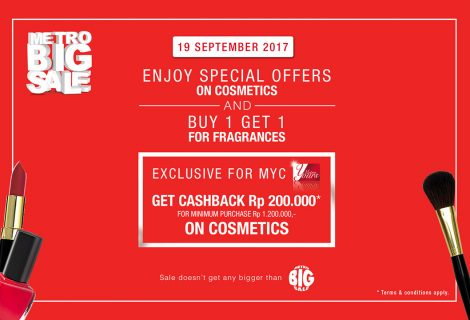 Special offers for cosmetics & perfumes (19 Sept'17)
