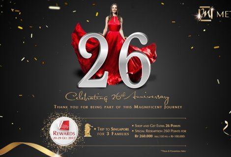 Celebrate 26th Anniversary
