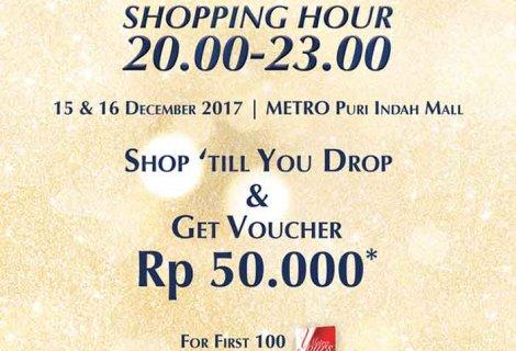 Extended Shopping Hour METRO Puri Indah