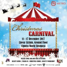 Christmas Carnival only at METRO Surabaya